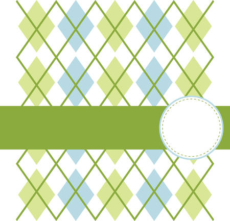 The Golf argyle pattern design is made of diamonds shaped Most argyle layouts contain layers of overlapping motifs adding a sense of threedimensionality movement and texture. Banco de Imagens - 41150328