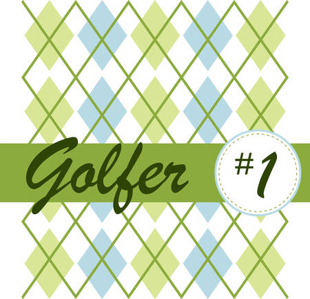 The Golf argyle pattern design is made of diamonds shaped Most argyle layouts contain layers of overlapping motifs adding a sense of threedimensionality movement and texture. Banco de Imagens - 41150329