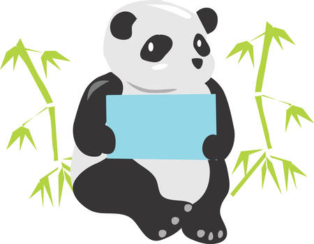 come back: A Panda bear is an endangered animal that with careful conservation will make a come back.
