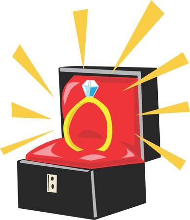 Vraag iemand om je trouwen met dit ontwerp naar de echte gave te verbergen.