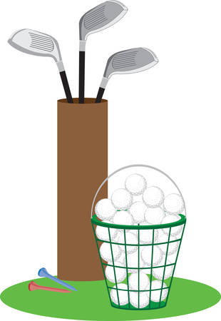 smaller: Golf is a game whose aim is to hit a very small ball into an ever smaller hole. Pick those design by Concord. Illustration