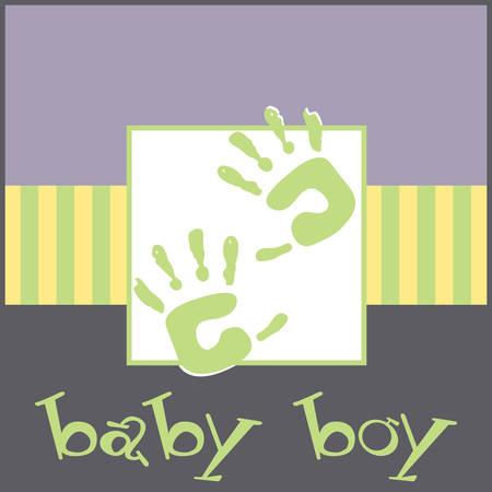 Sentez-vous doux au toucher mains de bébé conceptions carrés par Concord Banque d'images - 41150393
