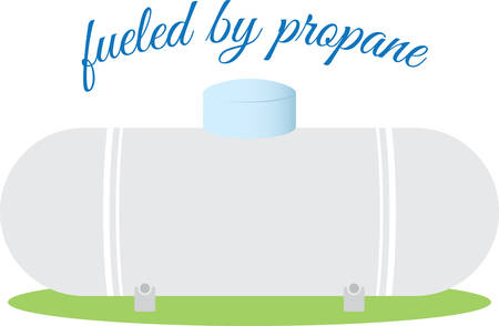 Better way to store the gas in Propane Tank . Pick those design by Concord. Ilustração
