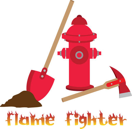 When we fire we call flame fighter .