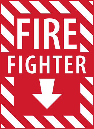 fire extinguisher: Fire extinguisher signs are a part of your fire safety plan.