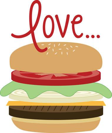 Sacred cows make the tastiest hamburger. 向量圖像
