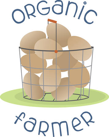Fill the basket with Farm Fresh Eggs