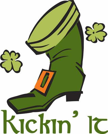 saint paddys day: Most of them like leprechaun Boots. Pick those design by Concord.