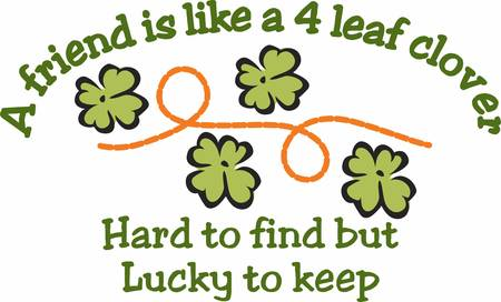 saint paddys day: May your blessings outnumber the shamrocks that grow with this design by Concord