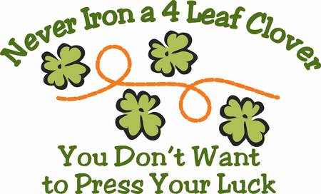 paddys: May your blessings outnumber the shamrocks that grow with this design by Concord