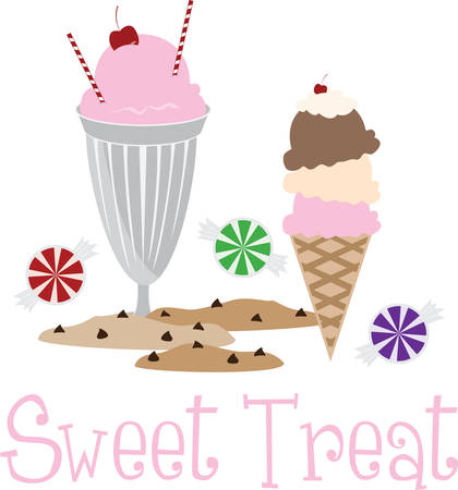 frozen treat: Kids enjoy ice cream cones on a hot summer afternoon.  These are perfect to go on a picnic.  Everyone will love them
