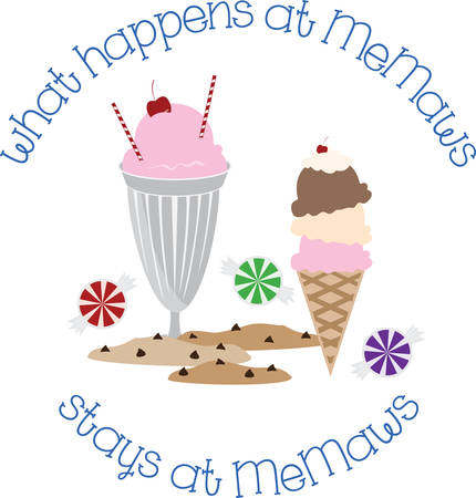 glace: Kids enjoy ice cream cones on a hot summer afternoon.  These are perfect to go on a picnic.  Everyone will love them