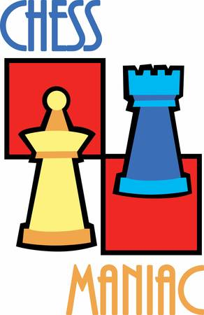 those: Chess player are so intelligent . Pick those design by Concord. Illustration