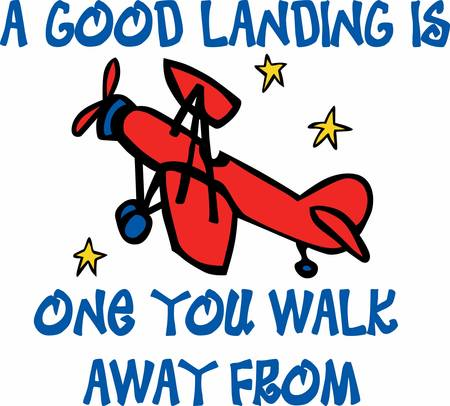 Fly in Red airplane to enjoy the space ride. Pick those design by Concord. Illustration
