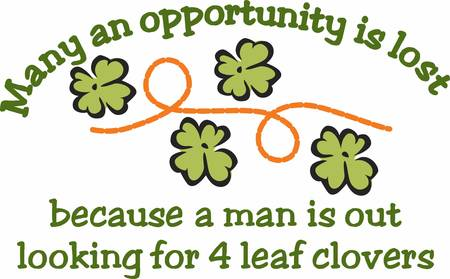 man looking out: Good times good friends good health to youand the luck of the leaf in all that you do  May your blessings outnumber the shamrocks that grow with this design by Concord Illustration