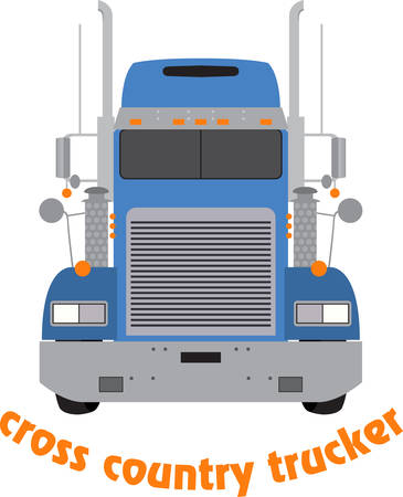 tractor trailer: The perfect gift for a truck driver. Grab these images from Concord.