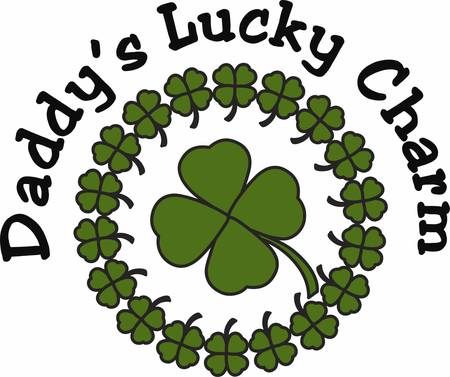 Collect the colourful Lucky Clover Circle