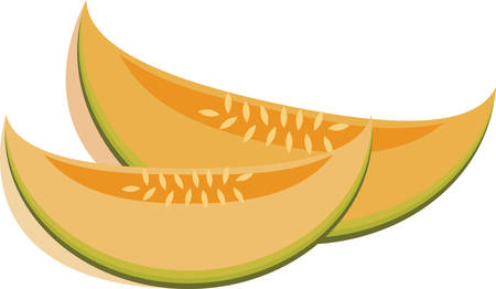 Cantaloupe is famous In summer . Pick those design by concord