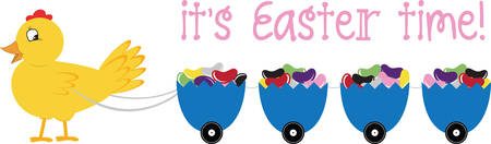 hatchling: A pretty decorated egg is an Easter treat