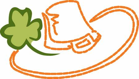 Enjoy the stylish Irish Hat . Pick those design by Concord