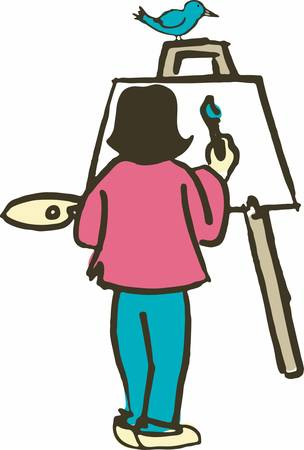 The art of teaching is the art of assisting discovery Vectores