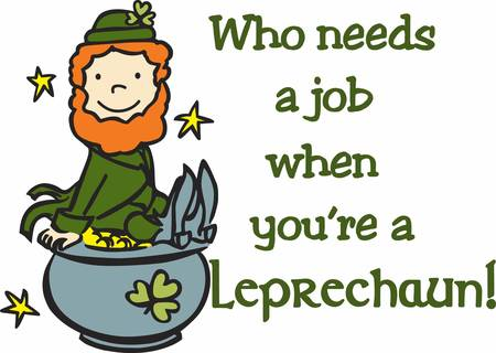 Collect the wide range of Leprechaun on pot accessory