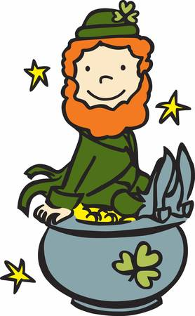 st paddy s day: Collect the wide range of Leprechaun on pot accessory