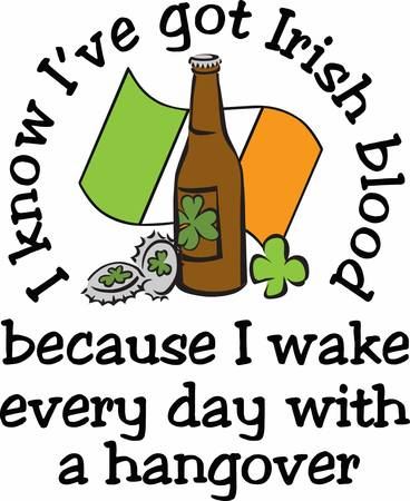 irish beer: Celebrate your happy days or party with this Irish Beer designs by Concord Illustration