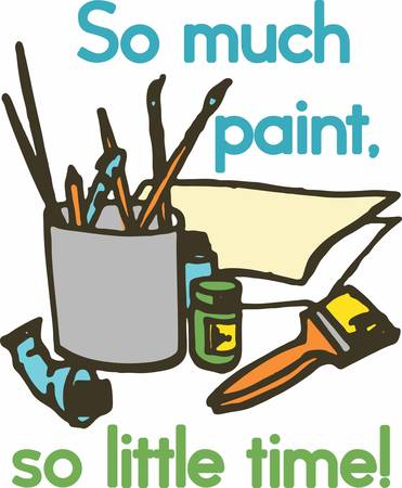 All you need to paint is a few tools a little instruction and a vision in your mind. Çizim