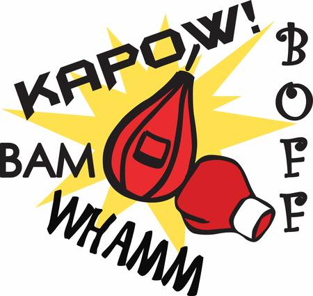 Boxing is sort of an inevitability. We know they are going to be pounding each other Иллюстрация