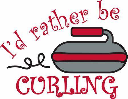 Play for fun with this curling rock designs by Concord
