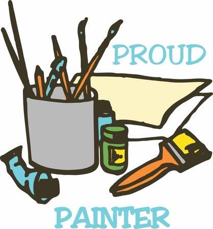すべての塗料に必要ないくつかのツールは、少し命令とあなたの心のビジョン