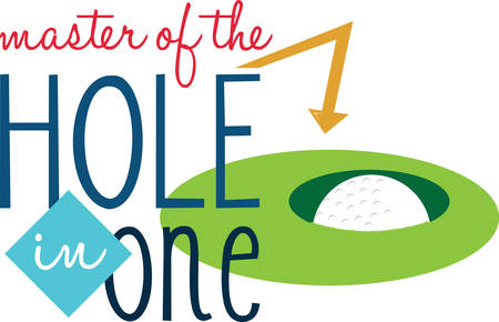 hole in one: Win Golf game and reward as golf master and queen . Pick those design by Concord