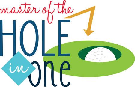 Win Golf spel en beloning zoals golf meester en koningin. Pak die ontwerp van Concord Stockfoto - 41150977
