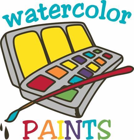 Pintura en el color del agua es como caminar en la cuerda floja se debe lograr un equilibrio perfecto entre lo que la pintura quiere hacer y lo que el artista quiere hacer Foto de archivo - 41151005