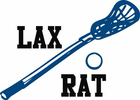lax: Lacrosse is a great game requiring lots of practice. This image will make a perfect gift on the equipment bag.