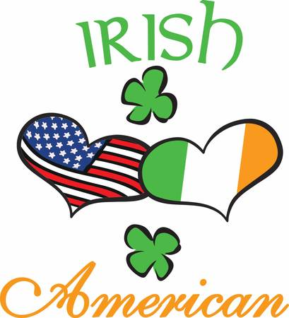erin: When Irish Hearts are happy all the world seems bright Have this designs by Concord Illustration