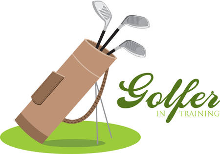 The object of golf is not just to win. It is to play like a gentleman and win. Ilustração