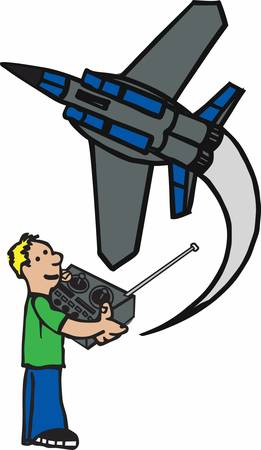 machine operator: A radiocontrolled aircraft is a small flying machine that is controlled remotely by an operator on the ground using a handheld radio transmitter pick those designs by concord