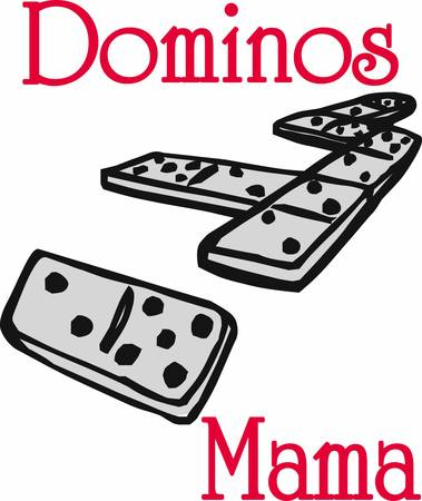 Domino pieces generally refers to the collective gaming pieces making up a domino set or to the subcategory of tile games played with domino pieces pick those designs by concord  イラスト・ベクター素材