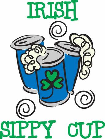 saint paddys day: Irish Beer Cans a can that holds beer pick those designs by concord
