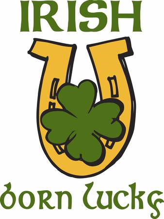 paddys: A Clover horseshoe or a representation of one regarded as bringing good luck pick those designs by concord