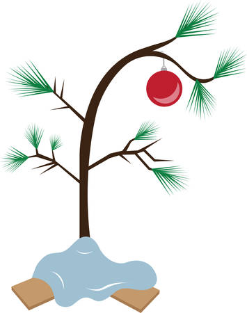 tannenbaum: The perfect Christmas tree all Christmas trees are perfect. Illustration
