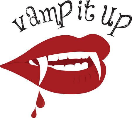 fang: Vampires are immortal you can do whatever you want and get away with it. Illustration
