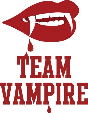 Vampires are immortal you can do whatever you want and get away with it. Vettoriali