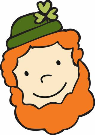 A leprechaun is a type of fairy in Irish folklore usually taking the form of an old man