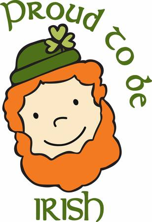 mischief: A leprechaun is a type of fairy in Irish folklore usually taking the form of an old man clad in a red or green coat who enjoys partaking in mischief pick those designs by concord Illustration