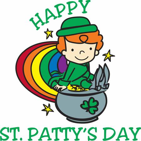 faerie: the Day of the Festival of Patrick is a cultural and religious holiday celebrated annually in ireland pick those designs by concord Illustration