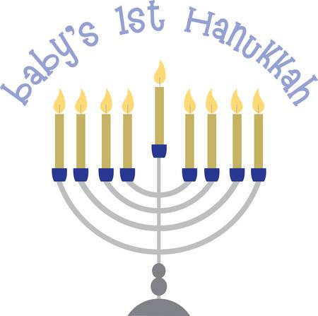 candelabrum: Bring Beautiful Light to Hanukkah With A Stunning New Menorah