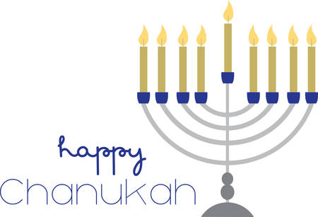stunning: Bring Beautiful Light to Hanukkah With A Stunning New Menorah